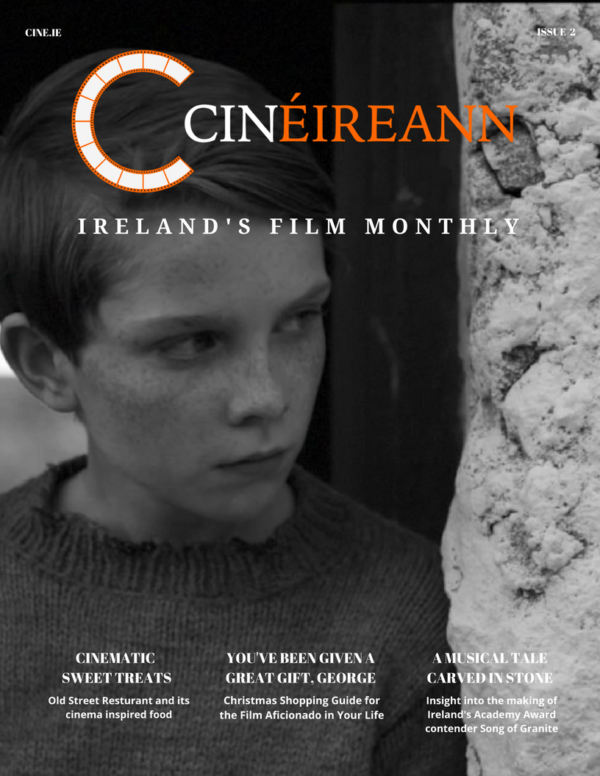 Cin É December Cover